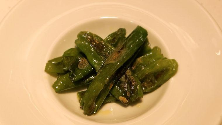 ししとうのオリーブオイル炒め/スペイン料理/タパス